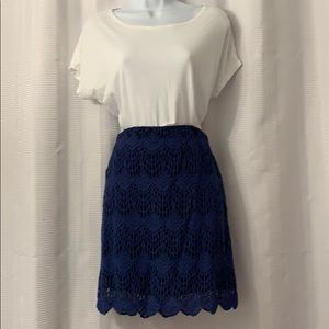 Mink Pink lace skirt